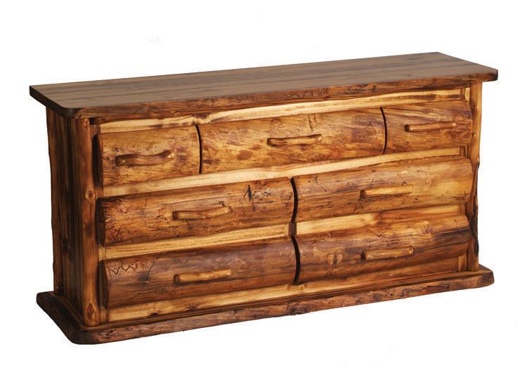 Log Bedroom Furniture | Log Furniture Bed | Reclaimed Wood Log Beds