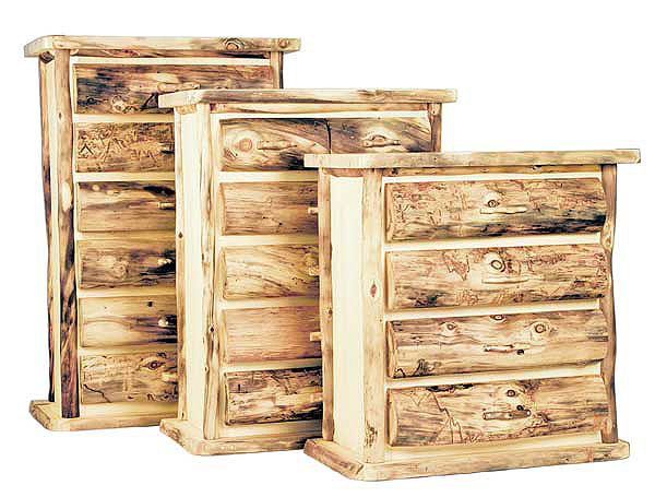 Rustic Log Bedroom Furniture Log Furniture Bed