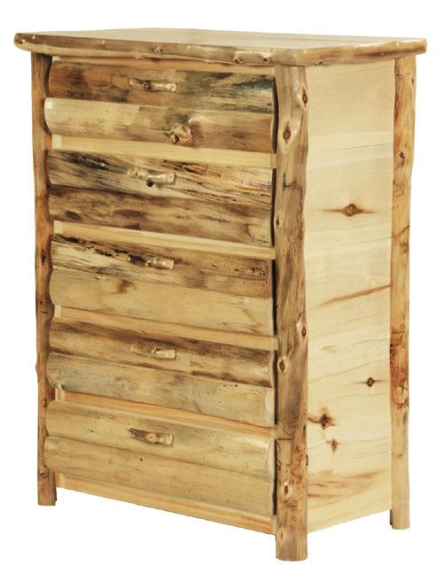 rustic discount budget bedroom log furniture aspen western bed