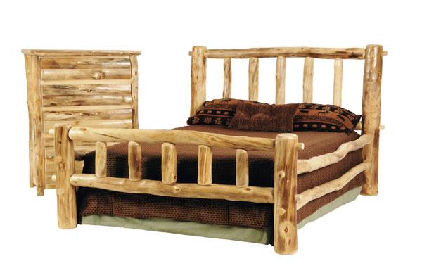 Rustic Discount Budget Bedroom Log Furniture | Aspen ...