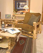 Longevity of aspen log furniture
