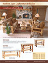 Mountainwoods Living Room Log Furniture Catalog