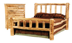 Rustic Arts Queen Bed & Dresser