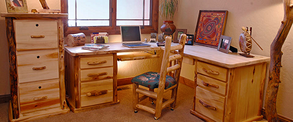 Home Office. MWF   Mountain Woods Furniture