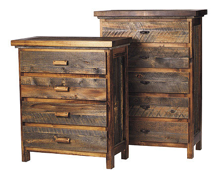Superior Rustic Reclaimed Wood Dresser