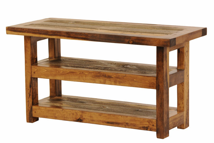 Rustic Reclaimed Wood Furniture Sustainable