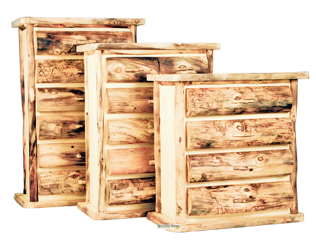 Heirloom Aspen Chest 2-6 Drawers - Mountain Woods Furniture ...