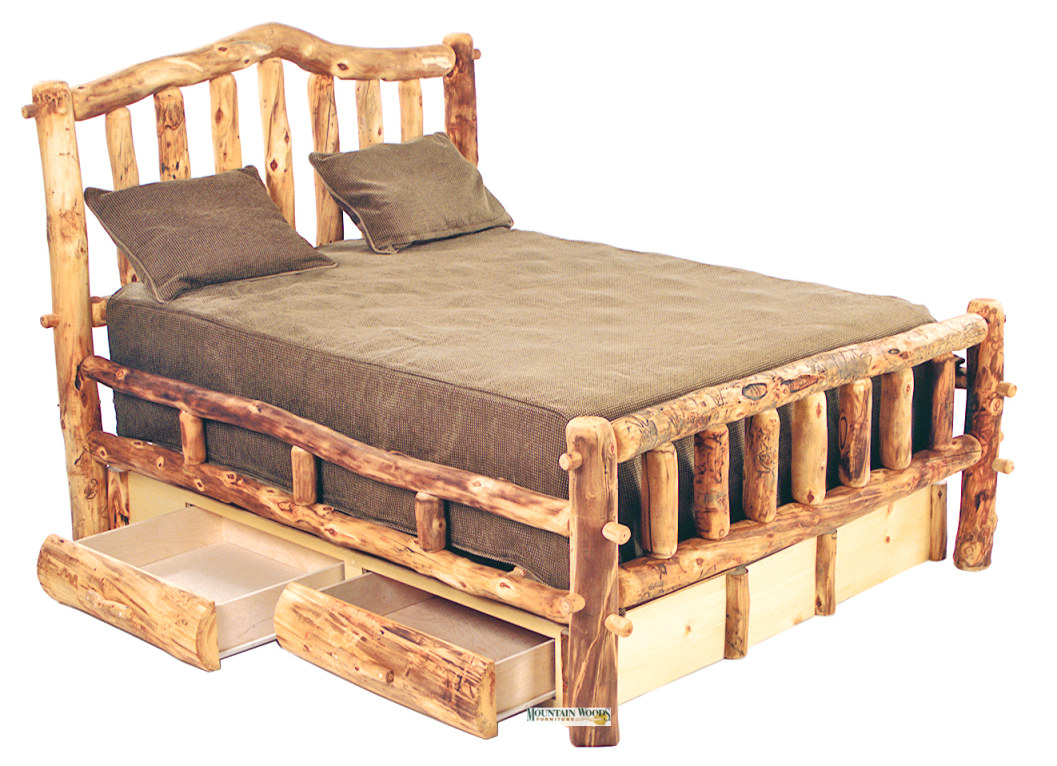 Snowload I Bed - Mountain Woods Furniture Product Gallery